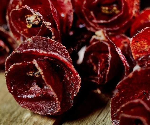 Schön Beef Jerky Rose Bouquets