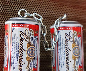 Nunchuck Beer Cans