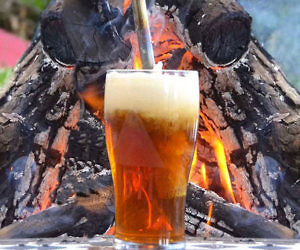 Beer Caramelizer Campfire Tool