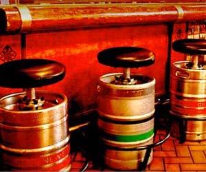 Beer Keg Stool