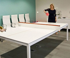 Ping Pong Conference Table - Table tennis conference table