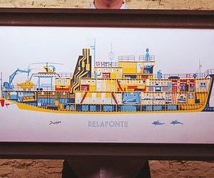 Steve Zissou Belafonte Boat Print