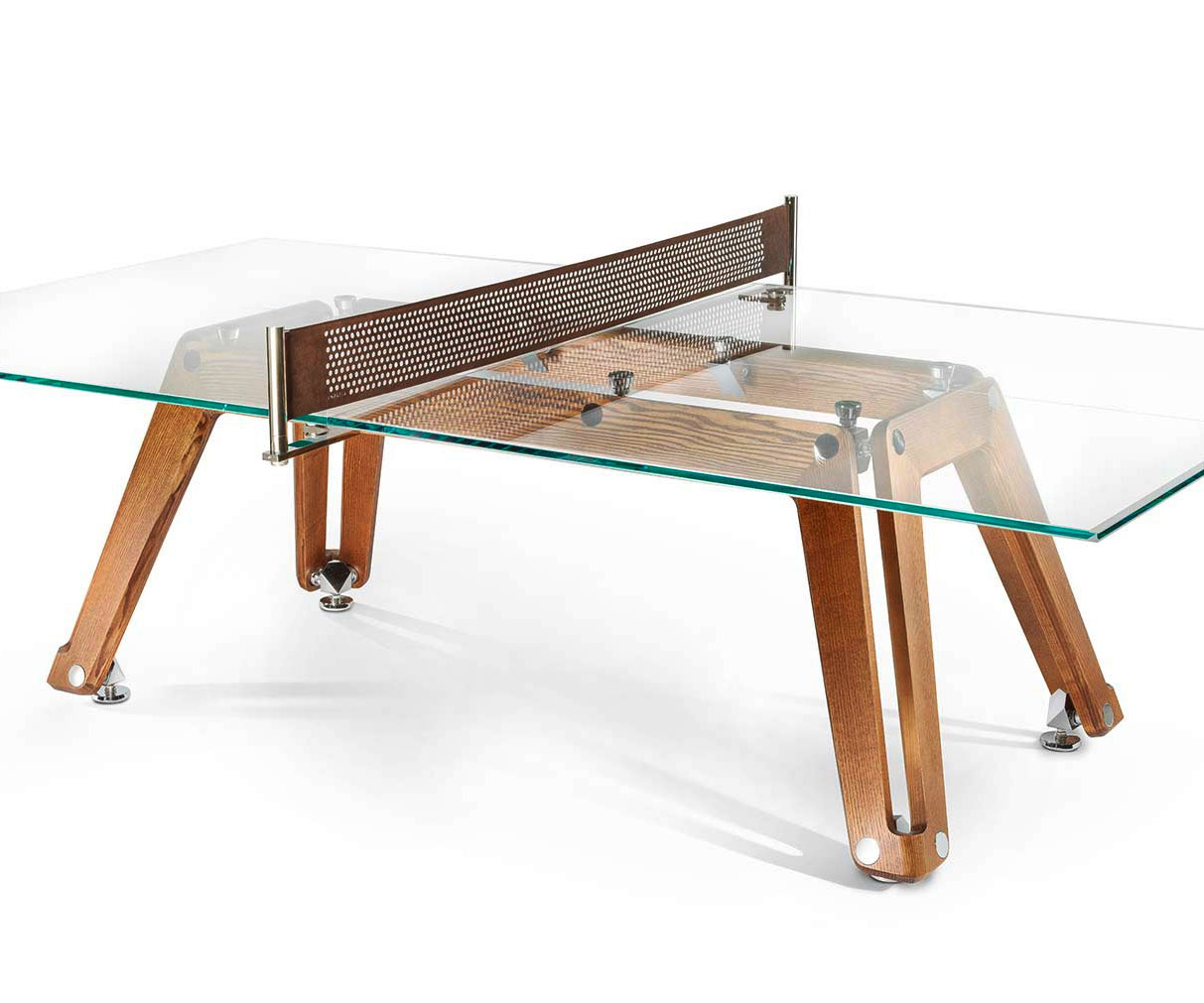 Bespoke Wood & Glass Ping Pong Table