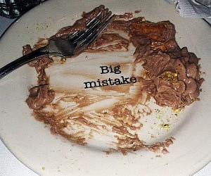 Big Mistake Plate