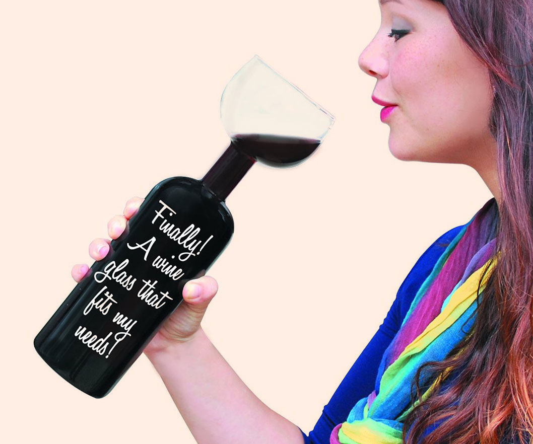 The Ultimate Wine Bottle Glass