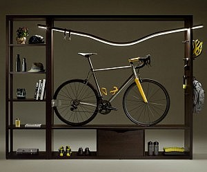 Vadolibero Indoor Bike Shelf