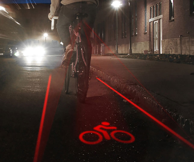 Bike Lane Light - coolthings.us