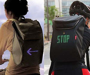 Turn Signal Backpack