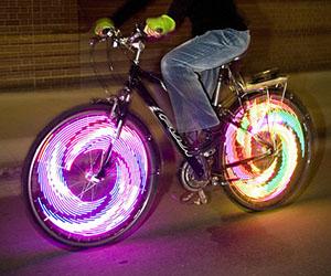 Light Up Motorcycle Wheel Lights