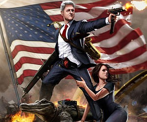 Epic Bill Clinton Poster