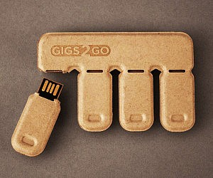 Biodegradable Thumb Drives
