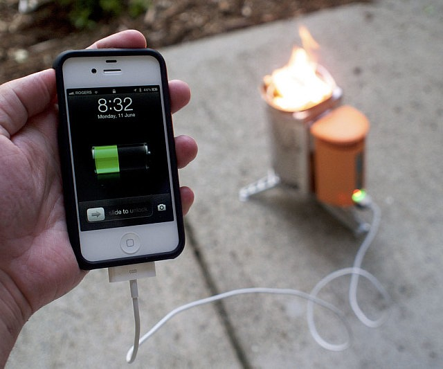 Camp Stove Power Charger