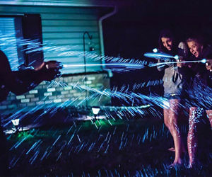 Bioluminescent Water Gun