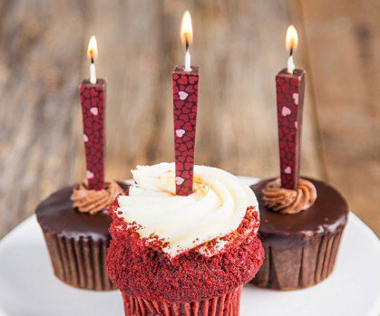 Edible Chocolate Birthday Candles