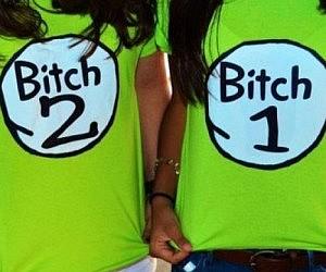 Bitch 1 & 2 Shirts