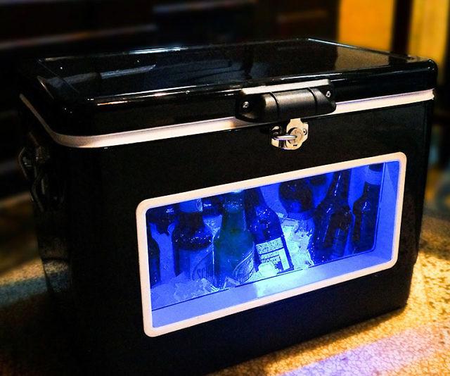 Blacklight Led Cooler