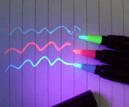 Blacklight Markers
