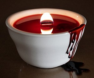Bloody Horror Candle