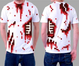 Bloody Pixelated Shirt