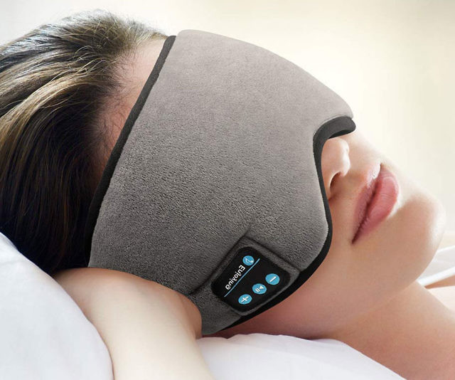 c3b0906c1c1 Bluetooth Sleeping Eye Mask Headphones