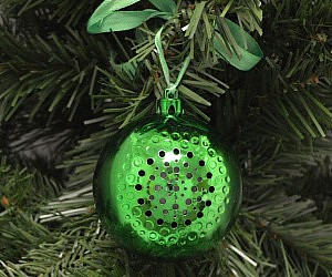 Bluetooth Speaker Christmas Ornament