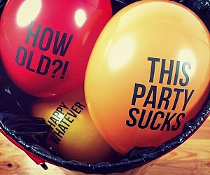 Blunt Message Balloons