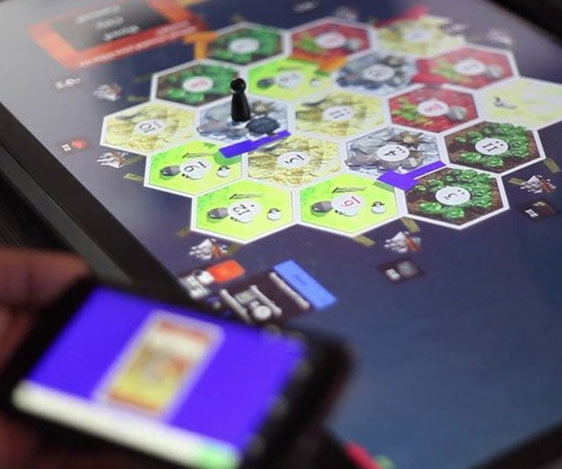 Digital Board Game Console - Digital board game table