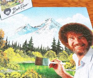 Bob Ross Jigsaw Puzzle