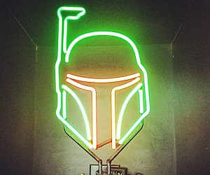 Boba Fett Neon Light