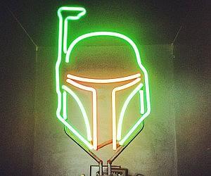 Boba Fett Neon Light