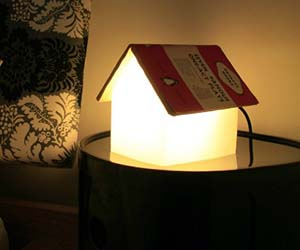 Book House Lamp