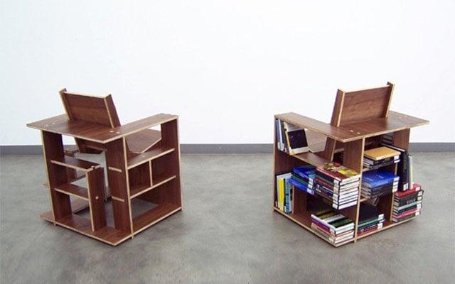 & Bookshelf Chair
