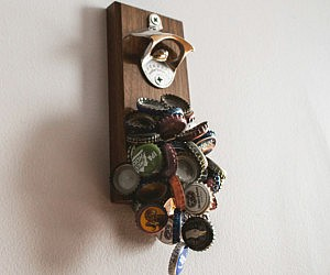 Magnetic Bottle Opener And Catcher