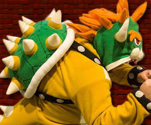 Spikey Bowser Hoodie