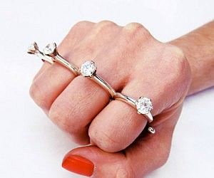 Womens Wedding Ring Wraps 72 Marvelous Brass Knuckles Engagement Ring