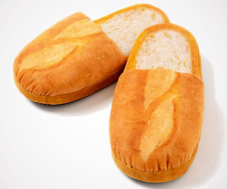Bread Slippers - coolthings.us