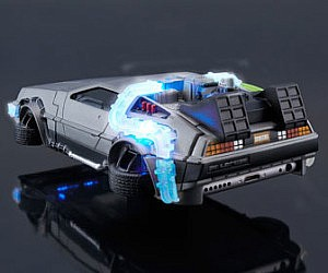Back To The Future DeLorean Phone Case