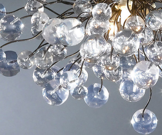 Clear bubbles ceiling lamp aloadofball Choice Image