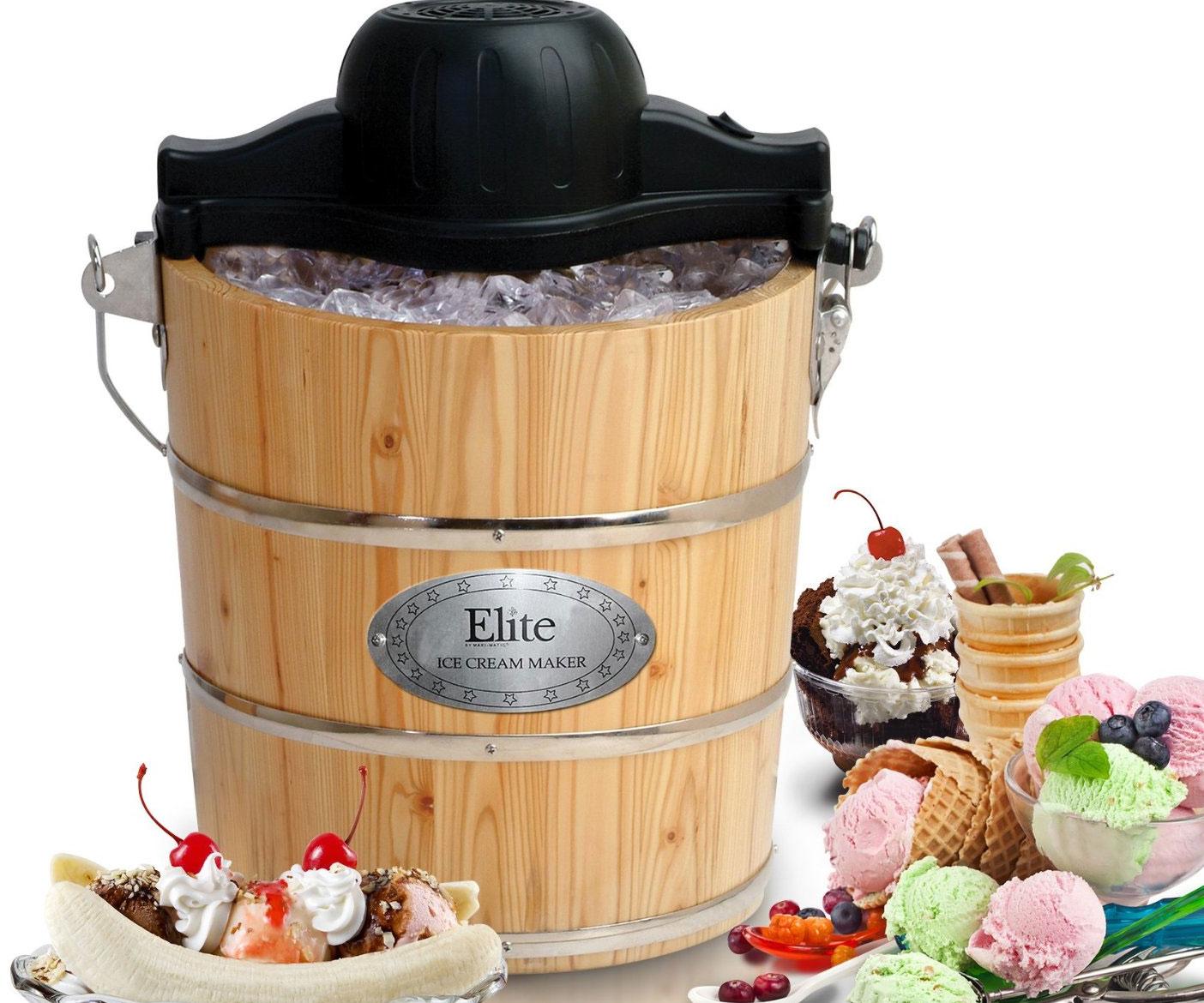 Old Fashioned Bucket Ice Cream Maker