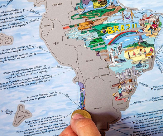 List Scratch Off World Map - Scratch off us states maps for class with pencil