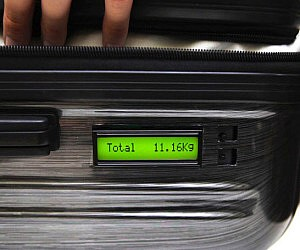 Built In Weight Scale Suitcase