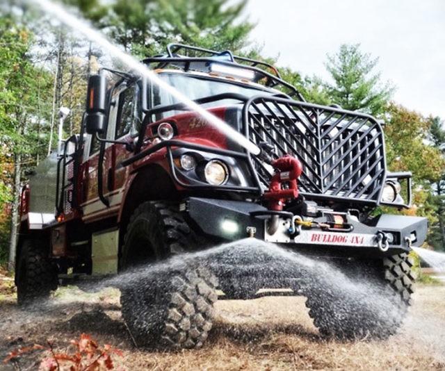 Off Road Fire Truck >> Bulldog Extreme 4x4 Fire Truck