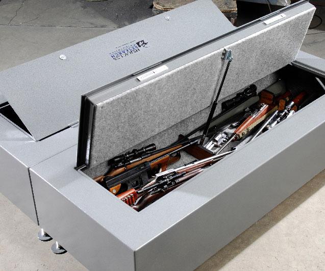 Bulletproof Gun Safe Bedframe