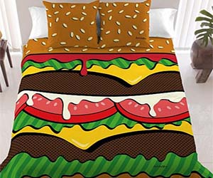 Inspirational Burger Bedset