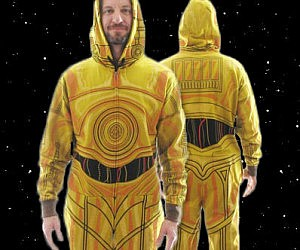 Star Wars C-3P0 Onesie