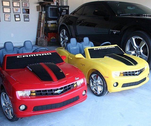 kids drivable camaro