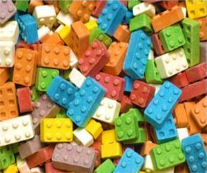 Candy LEGO Bricks