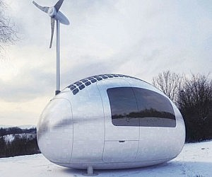 Portable Self Sustaining Capsule House