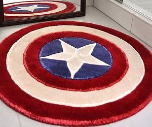 Etonnant Captain America Rug