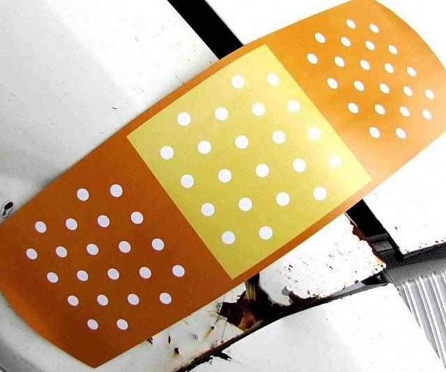 Band-Aid Car Magnet